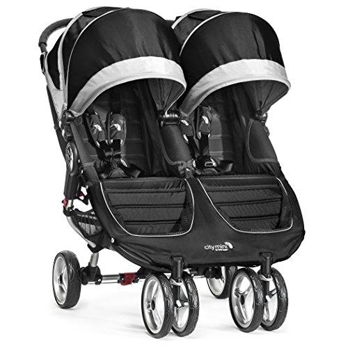 Baby Jogger City Mini Stroller – Double, Black