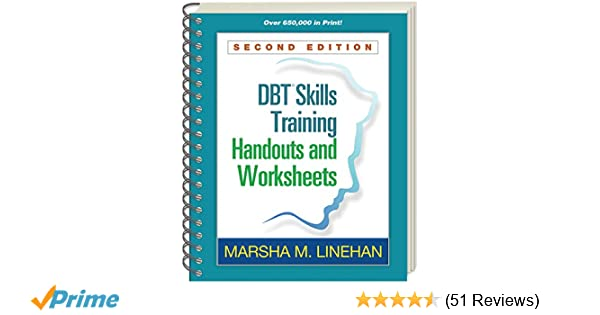 dbt skills training handouts and worksheets second edition amazon