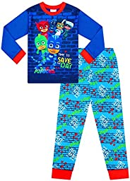 Pijama largo azul Pj Mask