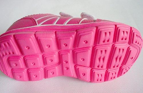 Kinder Sportschuhe, sehr leicht, mit Klettverschluss, pink, Gr. 25-36 Pink