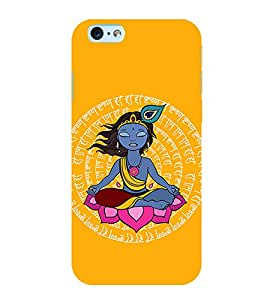 PrintVisa Designer Back Case Cover for Apple iPhone 6 (Lord Mohan Pic)