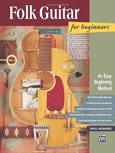 Folk Guitar for Beginners (National Guitar Workshop Arts Series) por Paul Howard