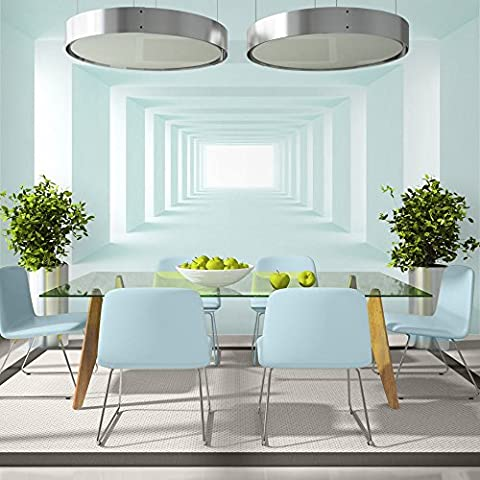 Fotomural 400x280 cm - 3 tres colores a elegir - Papel tejido-no tejido. Fotomurales - Papel pintado ventana túnel 3D