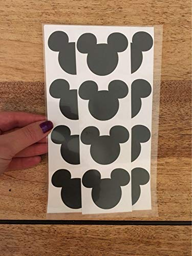 Wandaufkleber 12 Stücke Mickey Mouse Aufkleber Vinyl Aufkleber, Tafel Etiketten, Umschlag Dichtung, Kinder Geschenk,