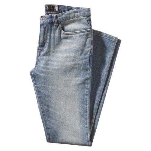 EMERICA pantalon sKELTER 1.0 denim Bleu - destruct wash