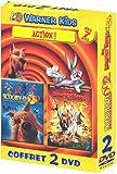 Coffret Action 2 DVD : Looney Tunes passent à l'action / Scooby-Doo 2