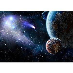 Vlies Fototapete PREMIUM PLUS Wand Foto Tapete Wand Bild Vliestapete   Erde  Weltraum Planet   No