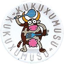 Kukuxumusu - 8 platos, 23 cm (Verbetena 016001032)