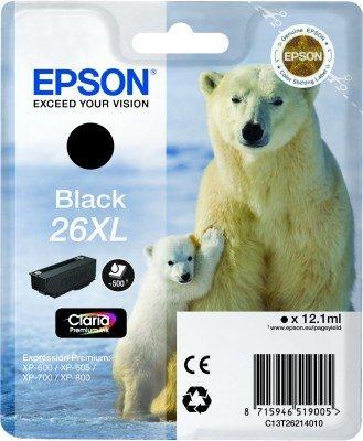 Epson - Cartuccia Nero Orso Polare antitaccheggio