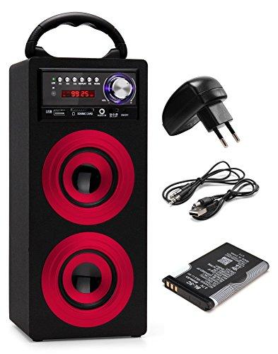 Beatfoxx Beachside BS-20BTR Portabler Bluetooth-Lautsprecher ...