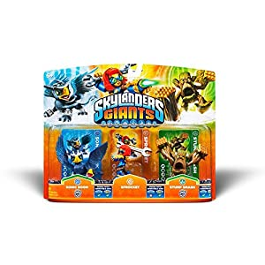Skylanders: Giants – Triple Pack C: Sprocket, Sonic Boom, Stump Smash