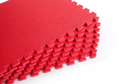 Red Gym Exercise – Exercise Mats