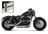 Auspuff Schalldämpfer Falcon für Harley Davidson Sportster 883 R Roadster (XL 883 R) 06-13