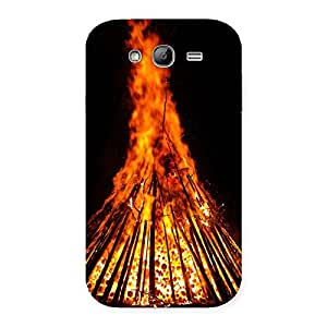 Neo World Fire Flames Back Case Cover for Galaxy Grand Neo