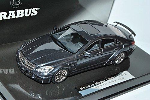 defektes-modell-mercedes-benz-cls-brabus-rocket-grau-800-2012-c218-1-43-minichamps-modell-auto