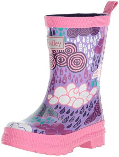 Hatleyprinted rain boots - wellingtons da lavoro da ragazza', viola (purple (stormy days)), 20