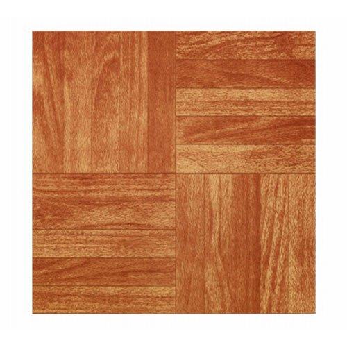 MAX CO LTD Sierra Pine Peel & Stick Vinyl Floor Tile, 12 x 12-In. (12 X 12 Vinyl Floor Tile)