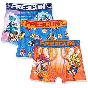 FREEGUN Boxer Pantis (Pack de 3) para Niños