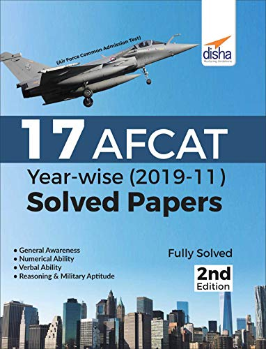 17 AFCAT Year-wise (2019-11) Solved Papers 2nd Edition