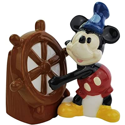 Salt & Pepper Shakers - Disney - Steamboat Willie New Licensed Toys 19545 by Westland
