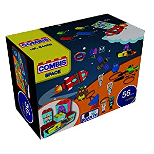 """Game Movil """"Space - Bloque de construcción Combinado en la Maleta (56 Piezas"""