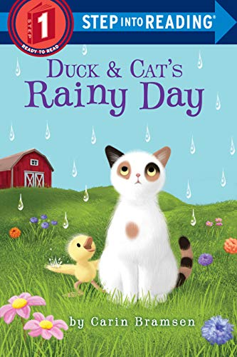 Duck & Cat's Rainy Day (Step into Reading) (English Edition)