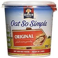 Quaker Oat So Simple Express Pot Original Porridge, 50 g (Pack of 8)