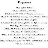 750-1250g Brotbackautomat mit 2 Knethaken und Nudel- und Pizza-Teig-Programm | Marmelade-Programm | 850 Watt | 12 Programme | Warmhaltefunktion | Verzögerungs-Funktion bis 15 Stunden | 17 Rezepte - 5