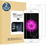 EasyULT Protector de Pantalla para iPhone 6 Plus/6S Plus [2 Pack], Cristal Templado para iPhone 6 Plus/iPhone 6S Plus