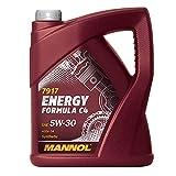 MANNOL 7917 Energy Formula C4 5W-30, 5 Liter