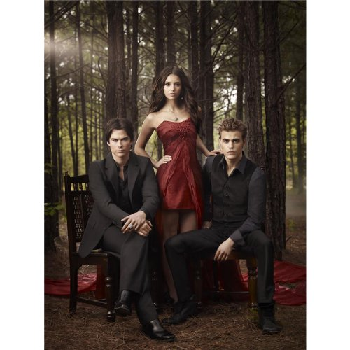 Vampire Diaries Poster On Silk <60cm x 80cm, 24inch x 32inch> - Affiche de Soie - 0B6DF7, Divers