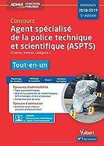 Concours Agent spécialisé de la police technique et scientifique (ASPTS) - Catégorie C - Tout-en-un - Concours 2018-2019 de Nathalie Ferry