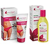 everteen® Combo: Bikini Line Hair Remover Crème (50g) and Natural Intimate Wash (105ml)
