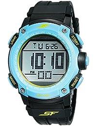 Sonata Fibre (SF) Digital Grey Dial Men's Watch-77073PP04