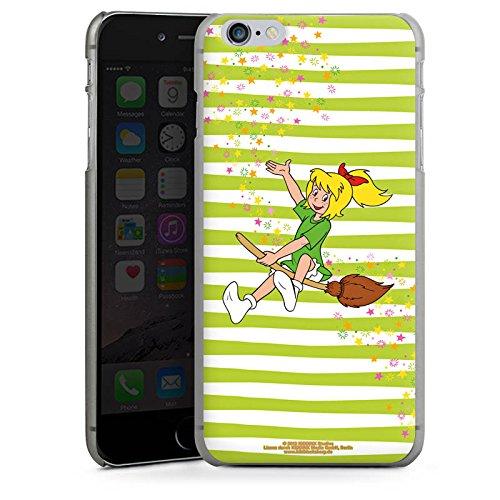 Apple iPhone X Silikon Hülle Case Schutzhülle Bibi Blocksberg Fanartikel Merchandise Bibi und Kartoffelbrei Hard Case anthrazit-klar