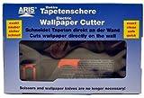 Original Aris Tapetenschere, mit Verlängerung und Ersatzklingen -