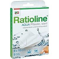 Ratioline aqua Duschpflaster Plus 8x10 cm steril 5 stk preisvergleich bei billige-tabletten.eu
