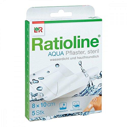 duschpflaster apotheke Ratioline aqua Duschpflaster Plus 8x10 cm steril 5 stk