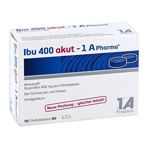 1A-Pharma Ibu 400 aktu Tabletten, 50 St.