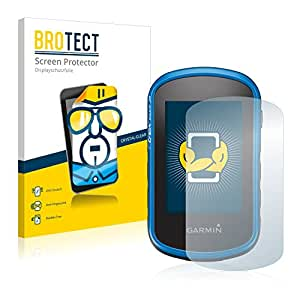 2x BROTECT Film Protection Garmin eTrex Touch 35 Protection Ecran - Transparent, Anti-Trace