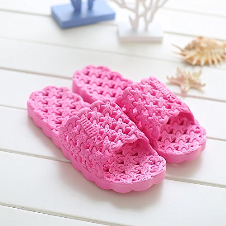 CWJDTXD Zapatillas de verano Zapatillas de verano de los hombres de interior antideslizante casa parejas gruesas...