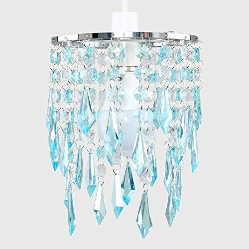 Raelf 60W Kristallleuchter eleganter Leuchter Entwurf, hängende Anhänger Kronleuchter Ohrringe, Licht in der Beleuchtung, Schöne Erfrischend, Plexiglas Gem Wirkung Wassertropfen