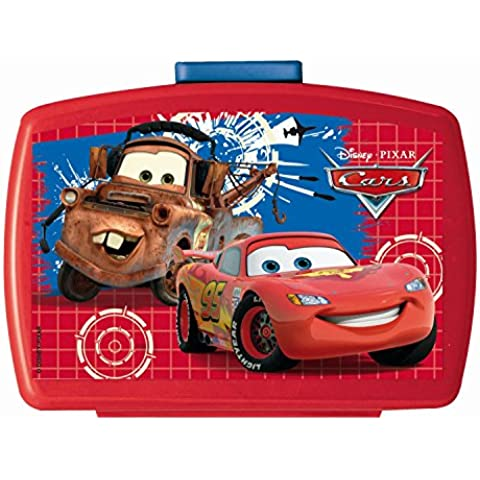 Disney / Pixar Cars Lunch Box Con Inserto - Auto Lunch Box