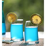 Pasabahce Trendy Penguin Shape Water Glass |Juice Glass | Cocktail Glass |Set Of 6 Pcs| 275 Ml | With Gift Box Packing