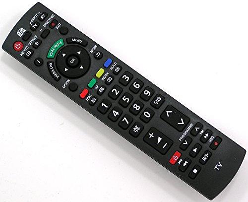 Ersatz Fernbedienung für Panasonic N2QAYB000350 Fernseher TV Remote Control / Neu (Panasonic Tv Zubehör)