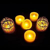 Specifica:Specifiche tecniche Tipo: LED candela di cera realeColore della luce: giallo lampeggianteTipo di batteria: CR2032Pacchetto: PVC confezionato con 6pezzi in un setCandela Dimensioni/PC: 1.97(L) * 1.2(H) inPeso: g/ogni setTempo lamp...