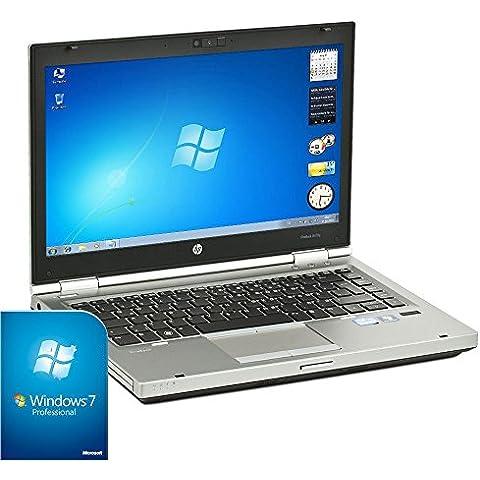 HP EliteBook 8470p Laptop (Core i52.8GHz, 4GB RAM, 500GB HDD, DVD-RW, 35,6cm/14pulgadas, 1366x 768, Windows 7) (Reacondicionado Certificado)