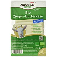 Andechser Natur Bio Ziegen-Butterkäse, 125 g