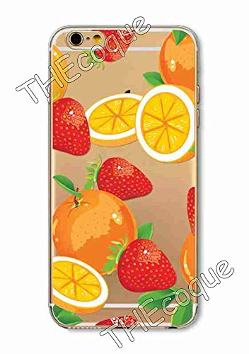Coque RIGIDE de qualite IPHONE 5c - Fruit ananas pasteque fraise drole design Swag motif 1 DESIGN case+ Film de protection OFFERT 15