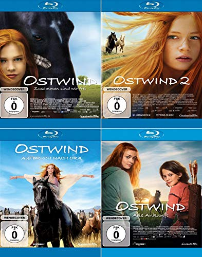 Ostwind 1 + 2 + 3 + 4 Collection (4-Blu-ray) Kein Box-Set